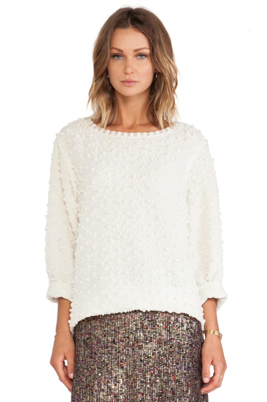 Erin Kleinberg Yasmine Sweater in Ivory