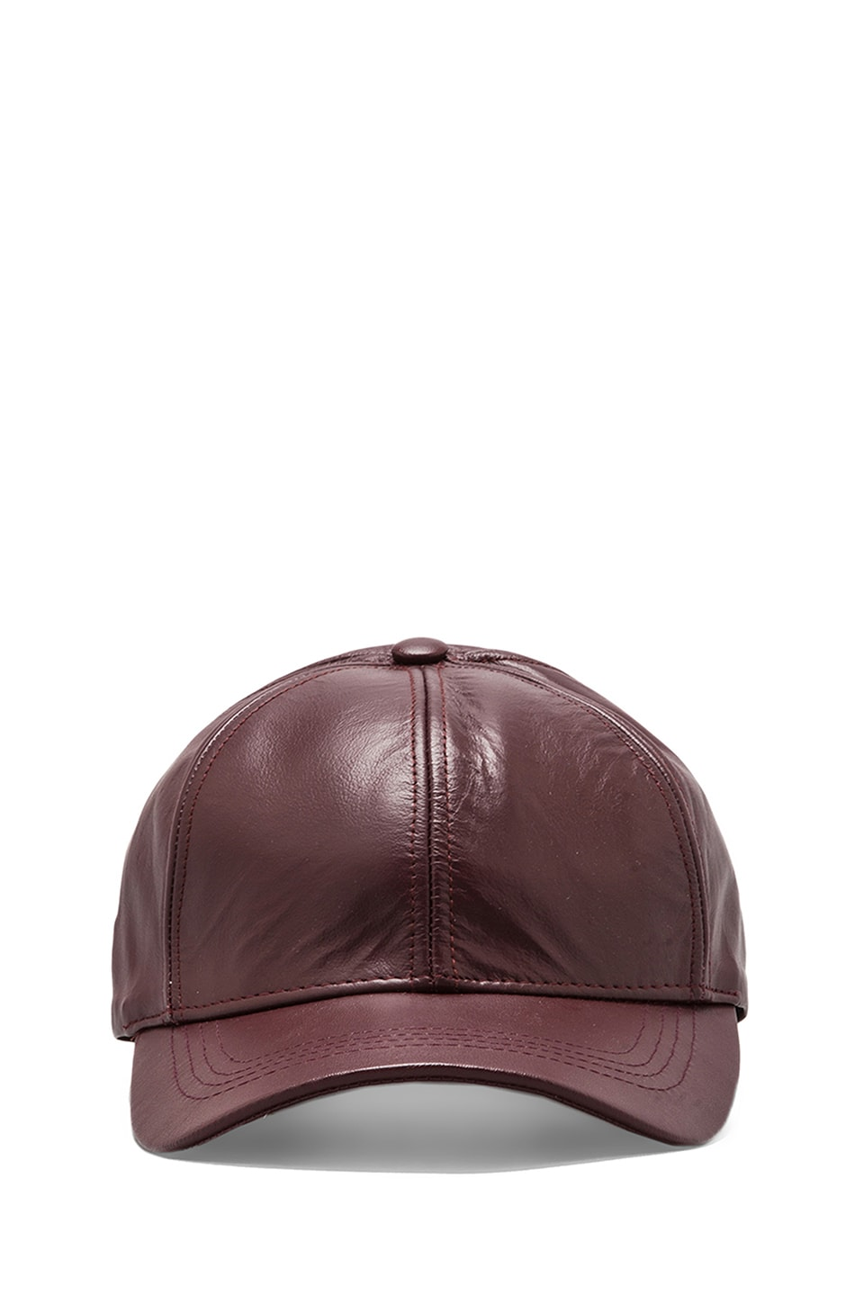 Elliott Label Boss Cap in Oxblood