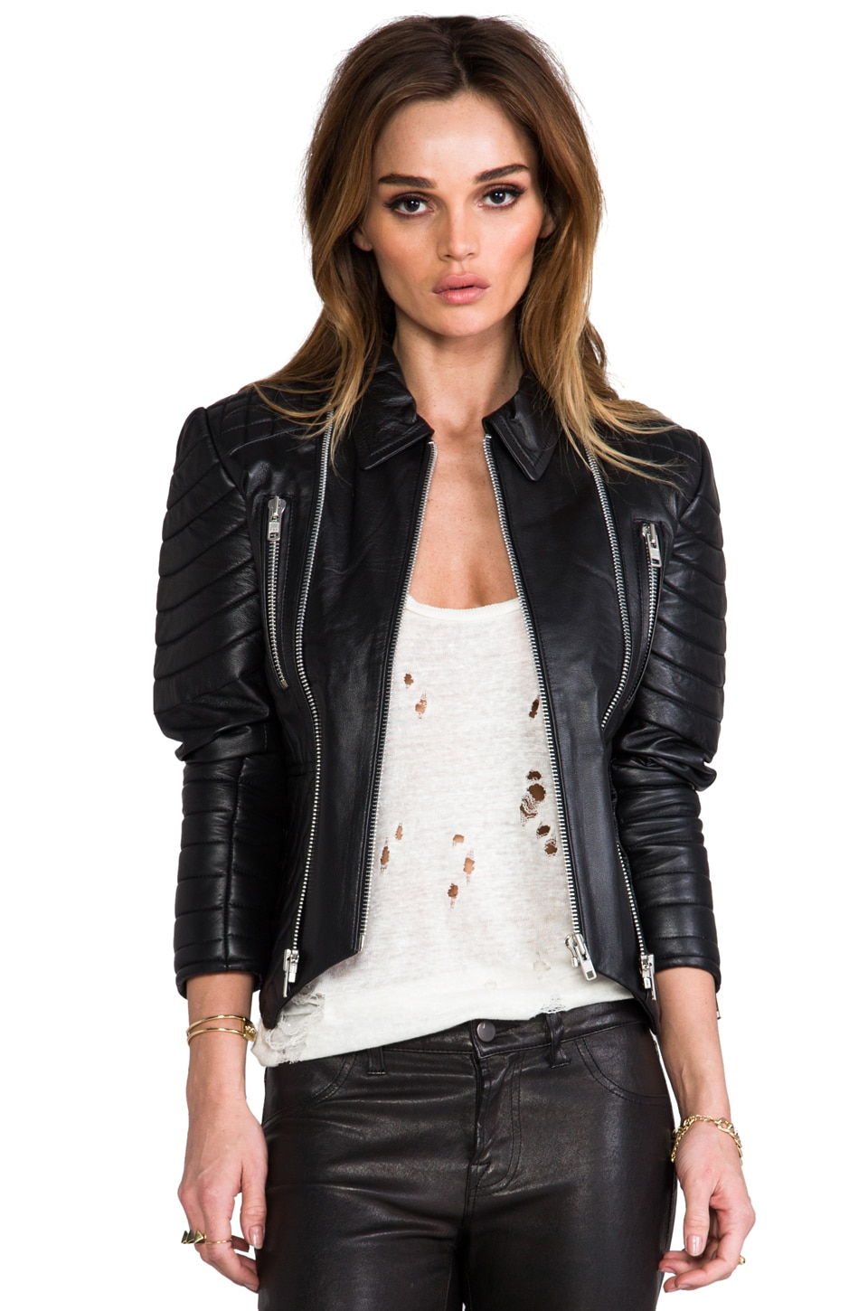 Elliott Label The Biker Couture Jacket in Black