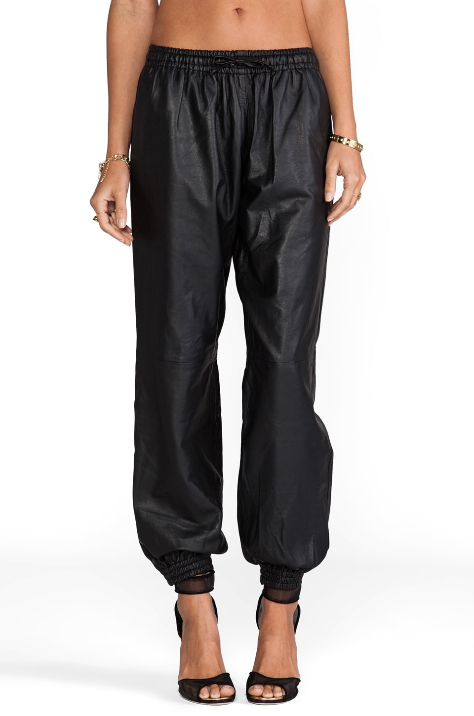 Elliott Label The Ballin Track Pant in Black