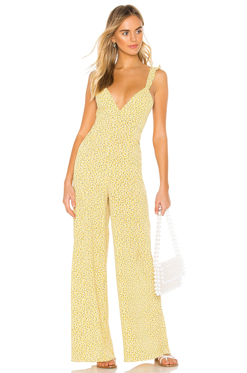Endless Summer Jilly Jumpsuit in Honeysuckle Floral