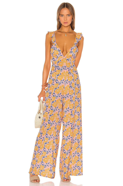 Endless Summer Jilly Jumpsuit in Sunshine