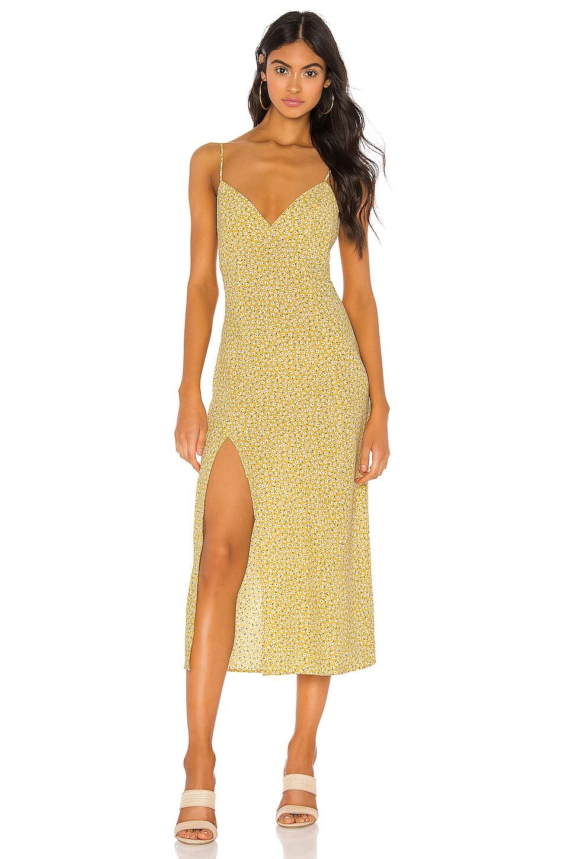 Endless Summer Harper Slip Dress in Honeysuckle Floral