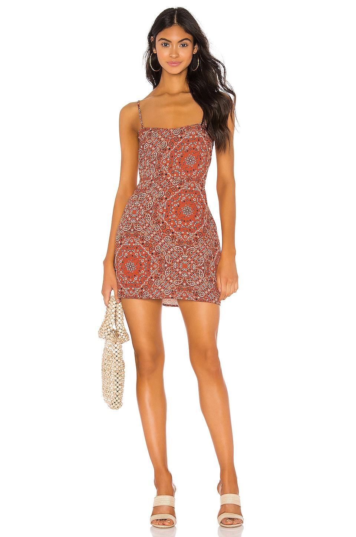 Endless Summer Harlow Mini Dress in Bandana