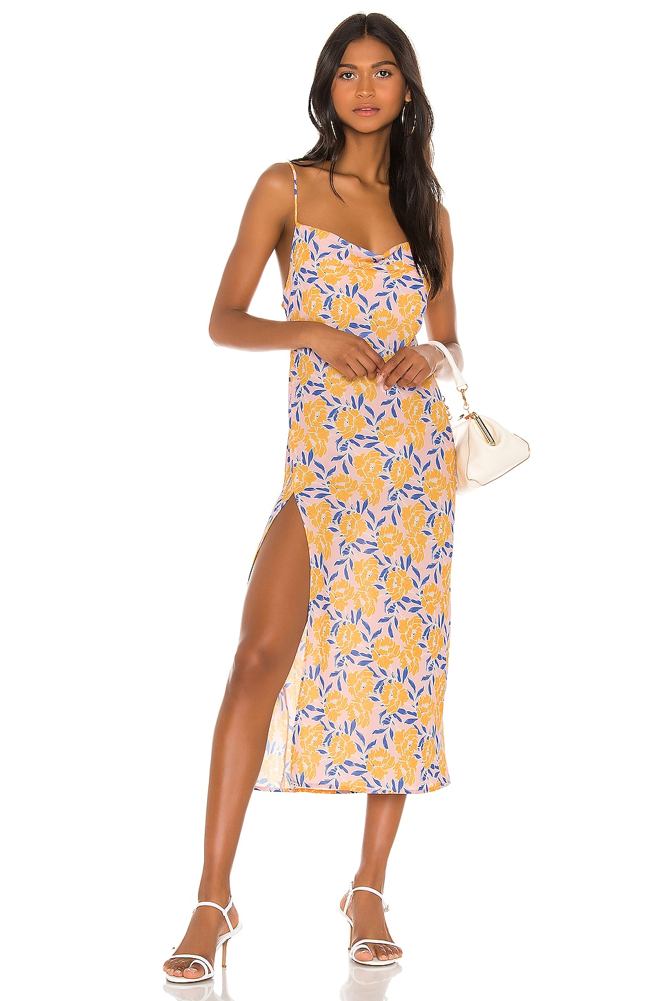 Endless Summer Madison Midi Dress in Sunshine