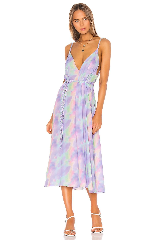 Endless Summer Hannah Dress in Sorbet Tie Dye