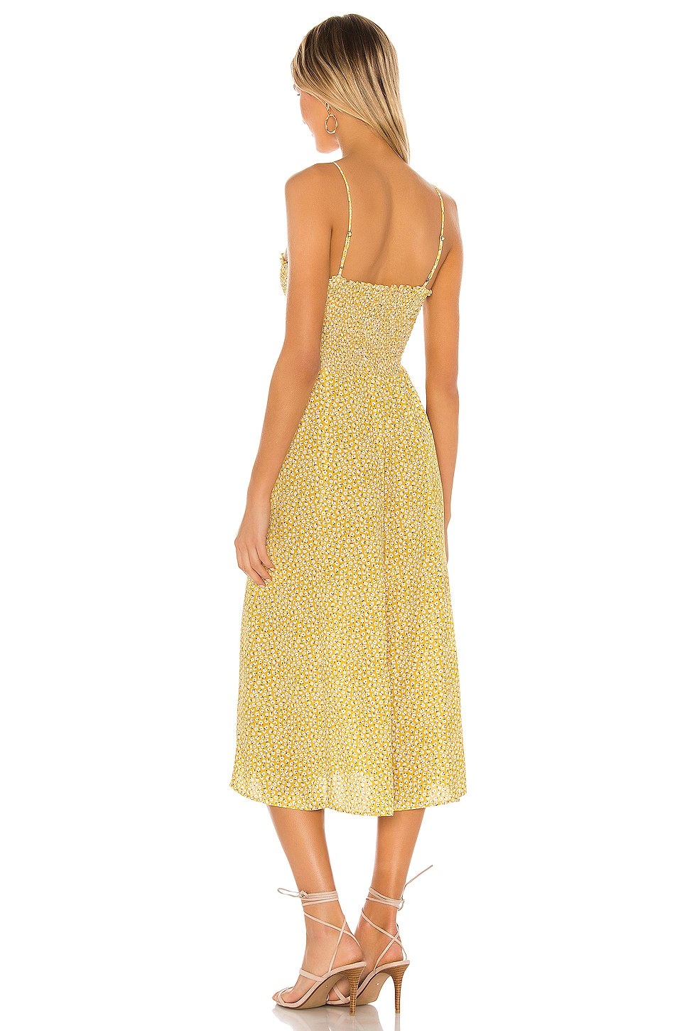 Ashley Midi Dress, view 3, click to view large image.