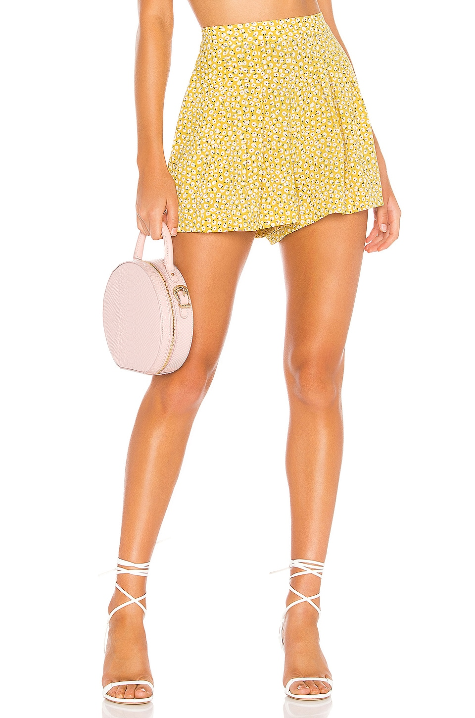 Endless Summer Zoey Short in Ditsy Yellow