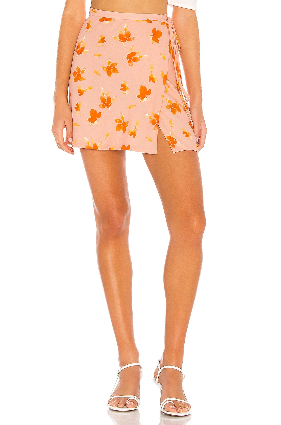 Endless Summer Sassy Skirt in Floral Punch