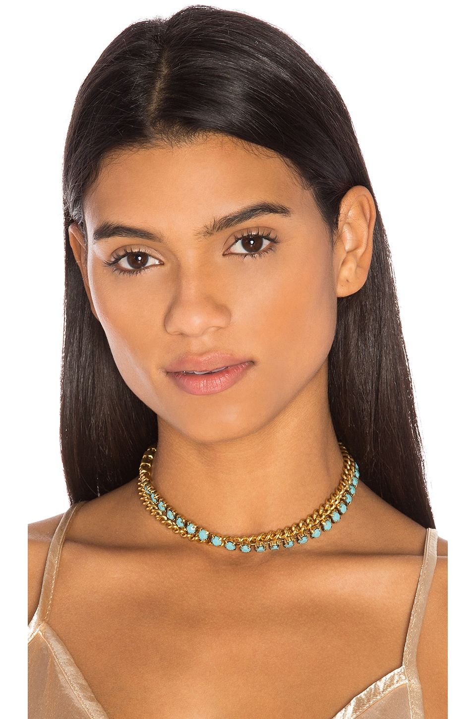 Double Layer Chain Choker by Elizabeth Cole