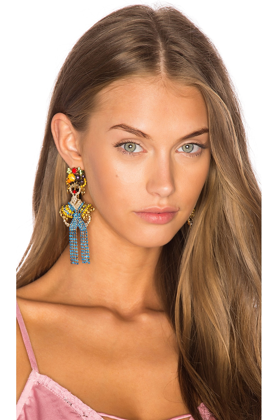 Chiquita Statement Earrings by Elizabeth Cole