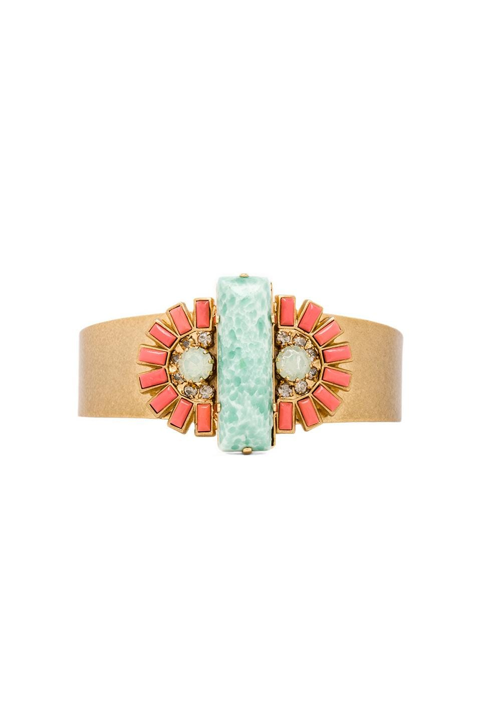 Elizabeth Cole Cuff in Vintage Turquoise