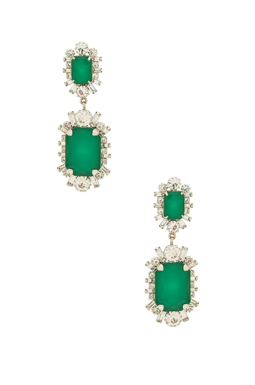 Elizabeth Cole x REVOLVE Piper Earrings in Emerald