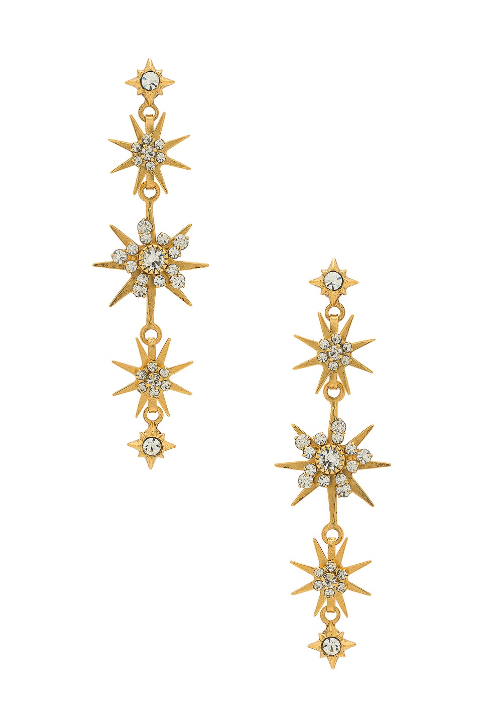 Elizabeth Cole Gilda Earring in Celestial Gold