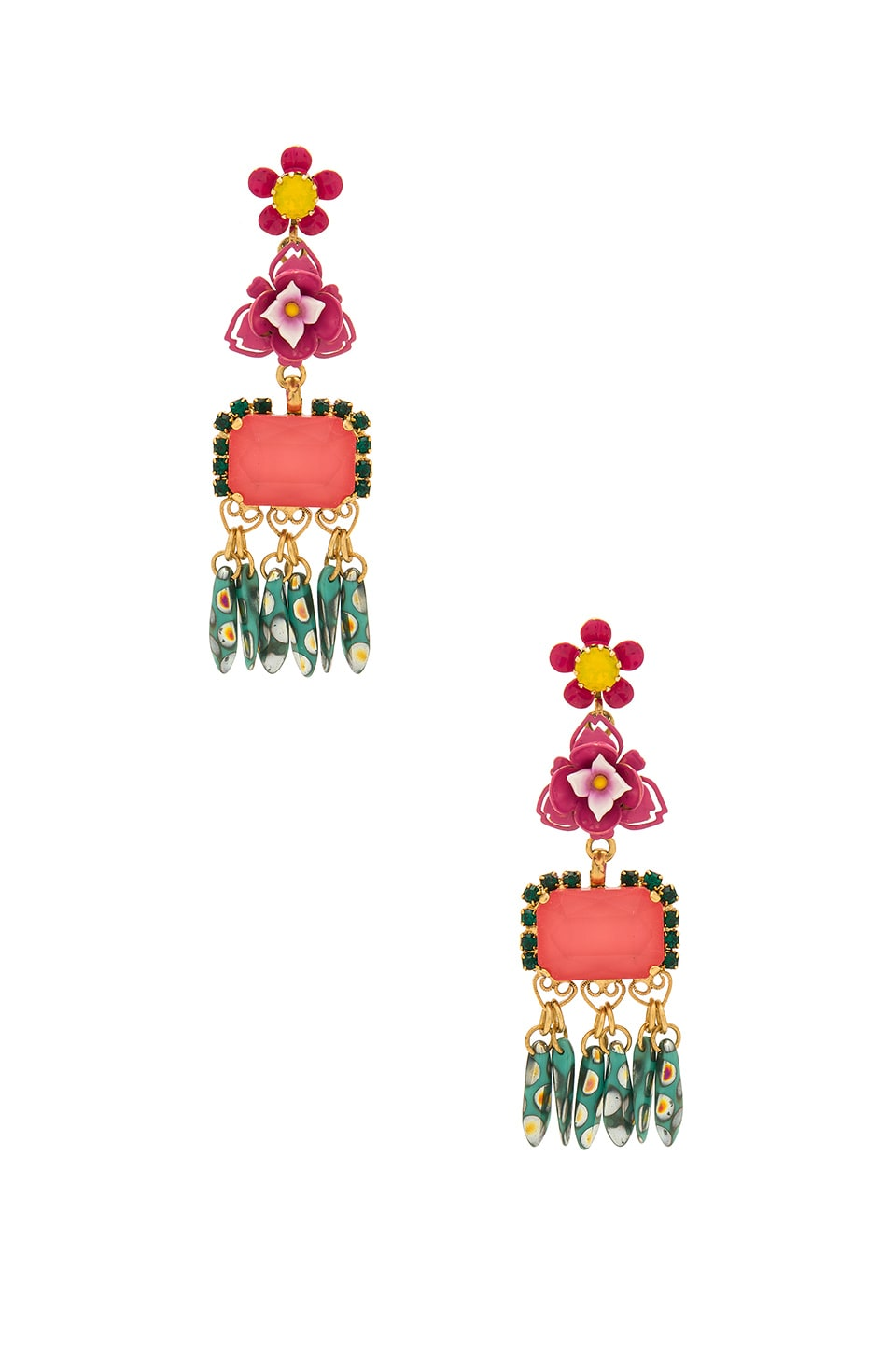 ELIZABETH COLE MORTON EARRINGS
