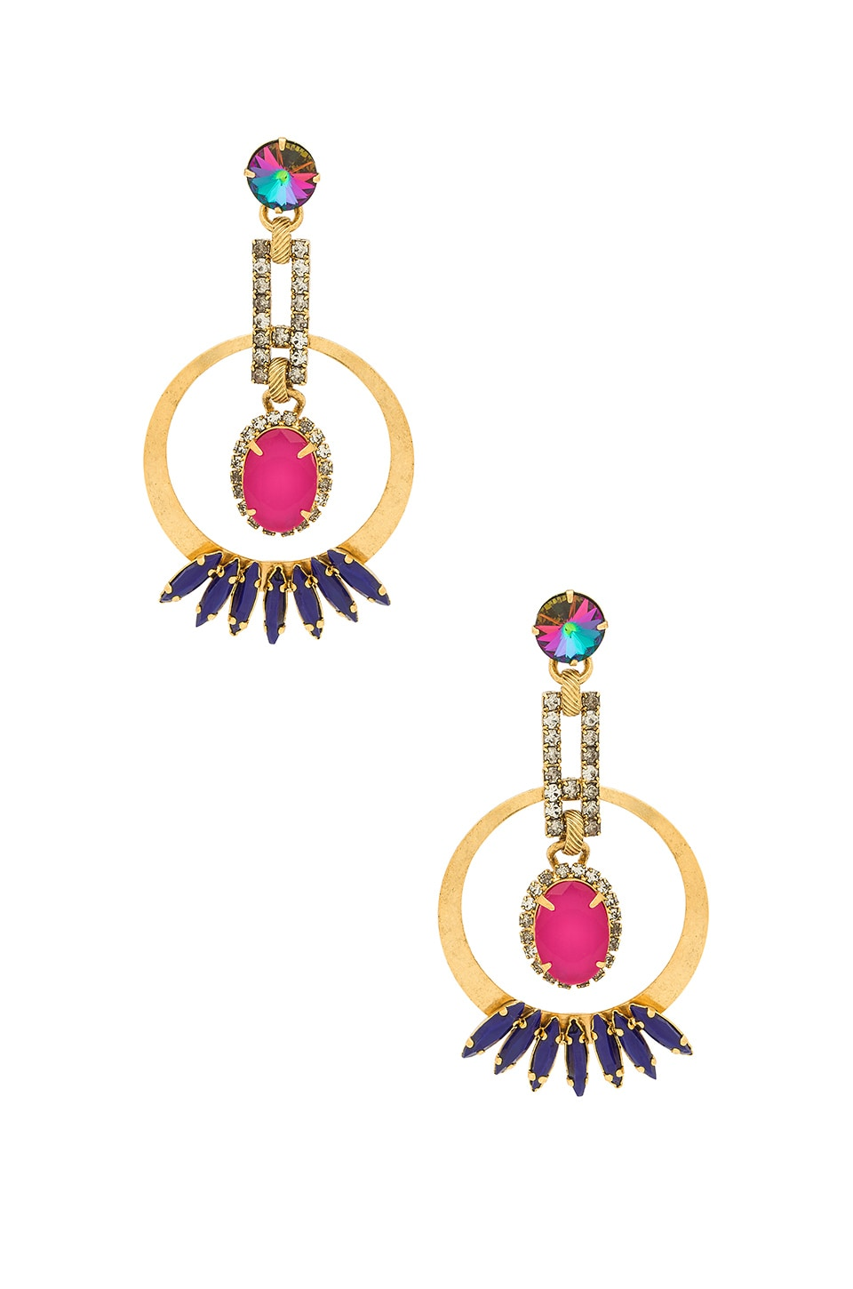 ELIZABETH COLE REESE EARRINGS