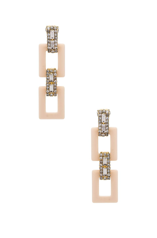 Elizabeth Cole Tait Earrings in Cream