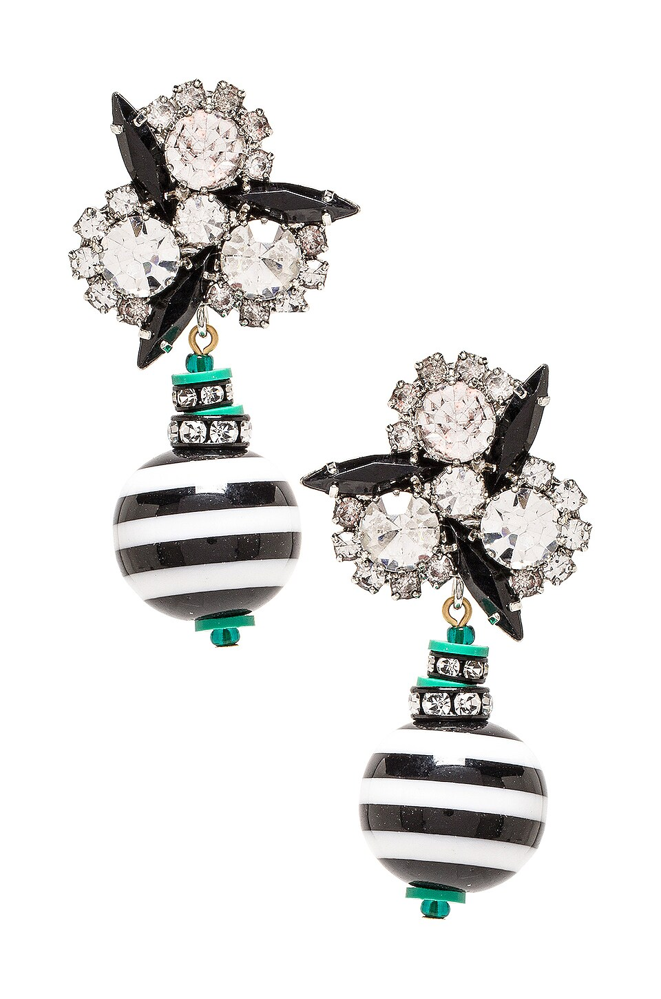 Elizabeth Cole Drop Earring in Multi