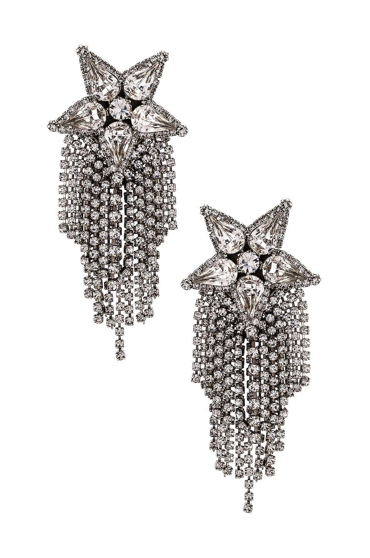 Elizabeth Cole Isla Earrings in Silver