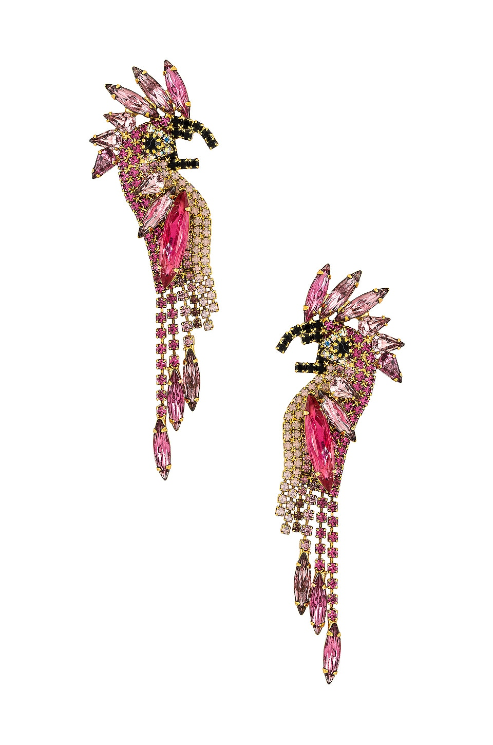 Elizabeth Cole Daya Earrings in Pink
