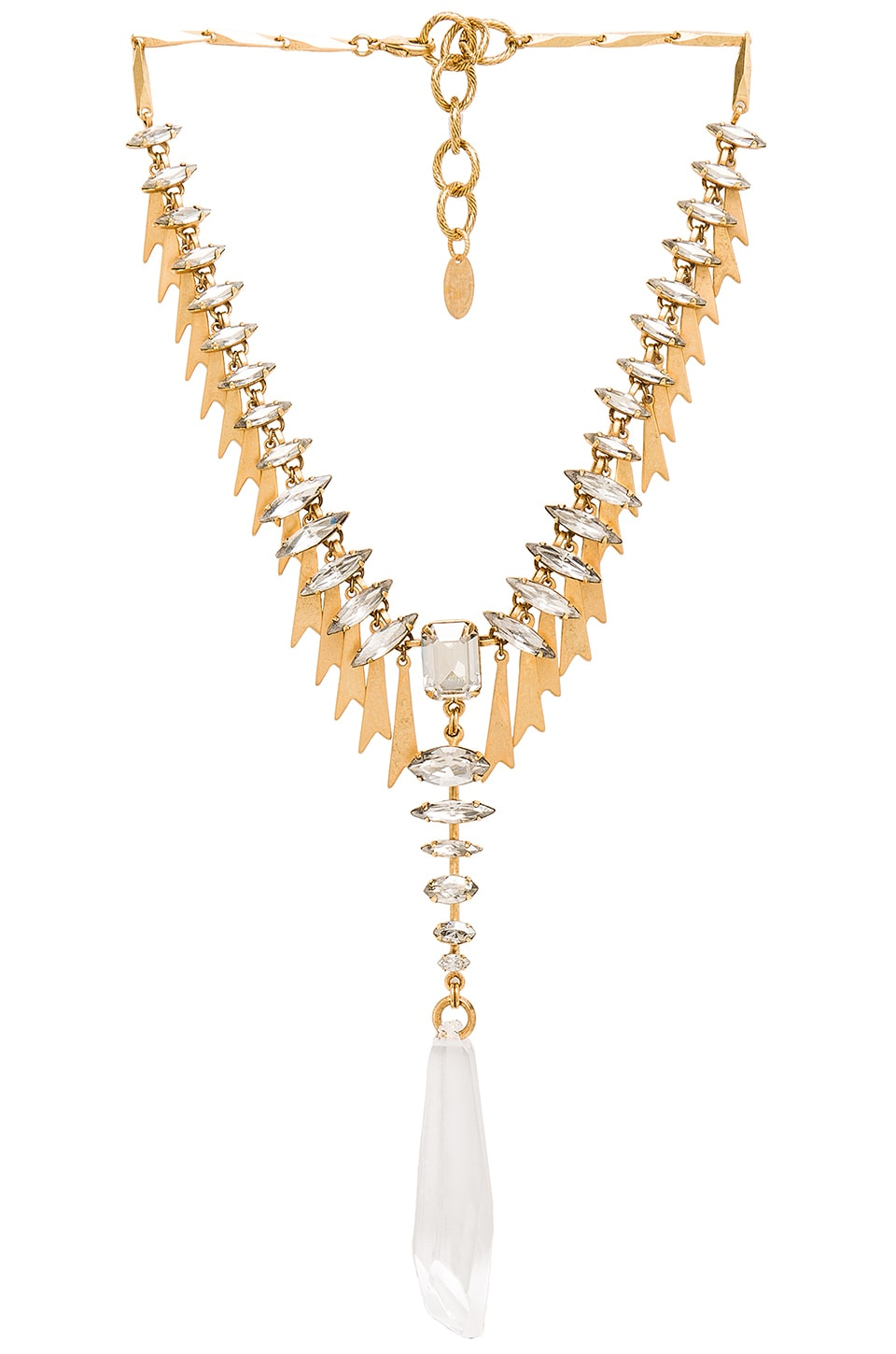 Pointed Crystal Necklace