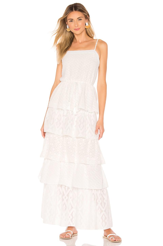 ELLEJAY X REVOLVE Andrea Dress in White Swiss Dot