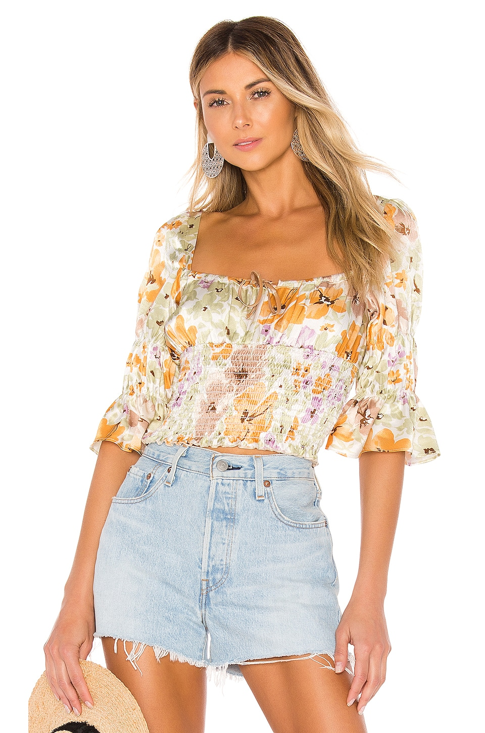 ELLEJAY Amanda Top en Flower