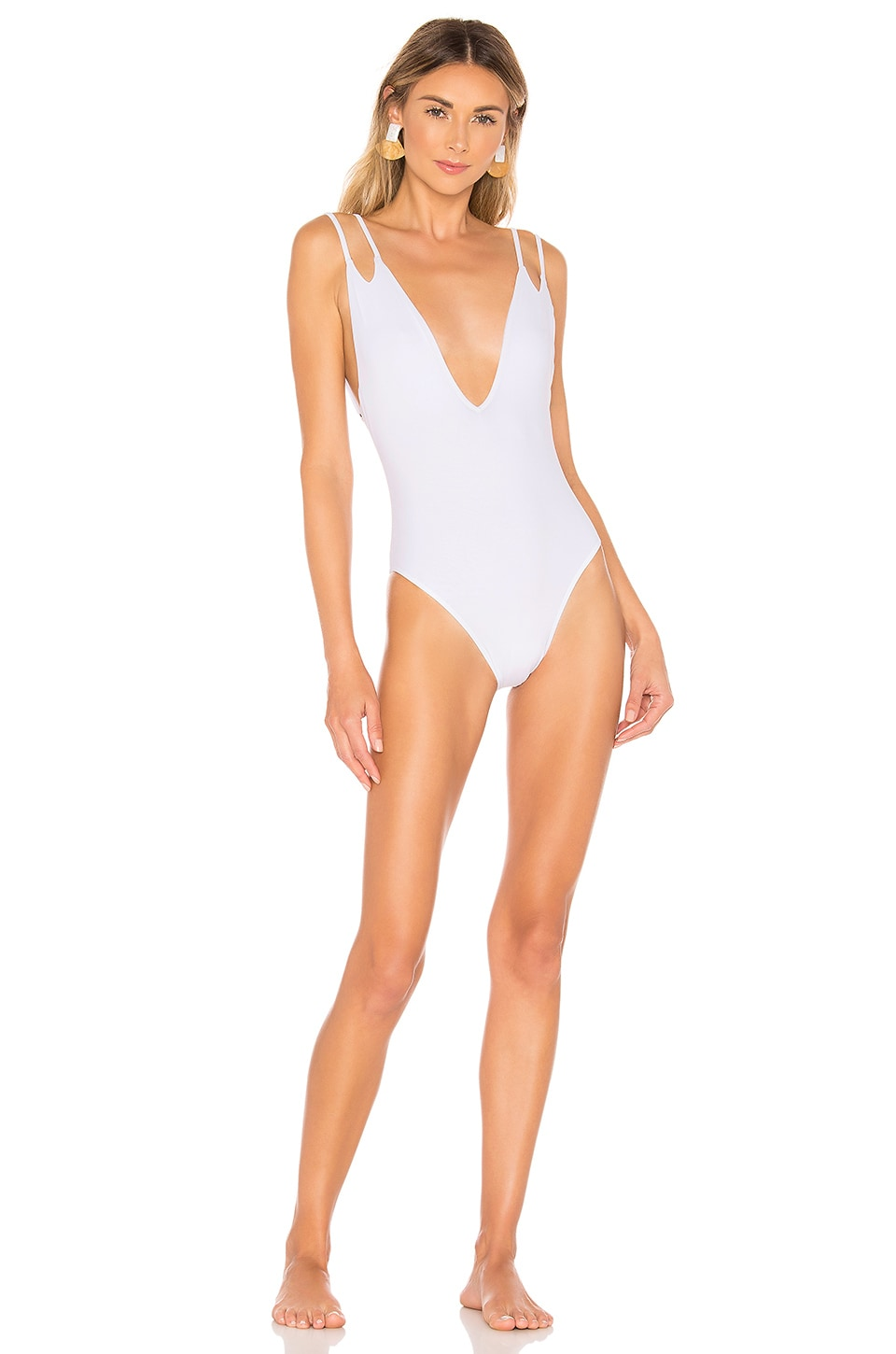 ELLEJAY X REVOLVE Alana One Piece in White