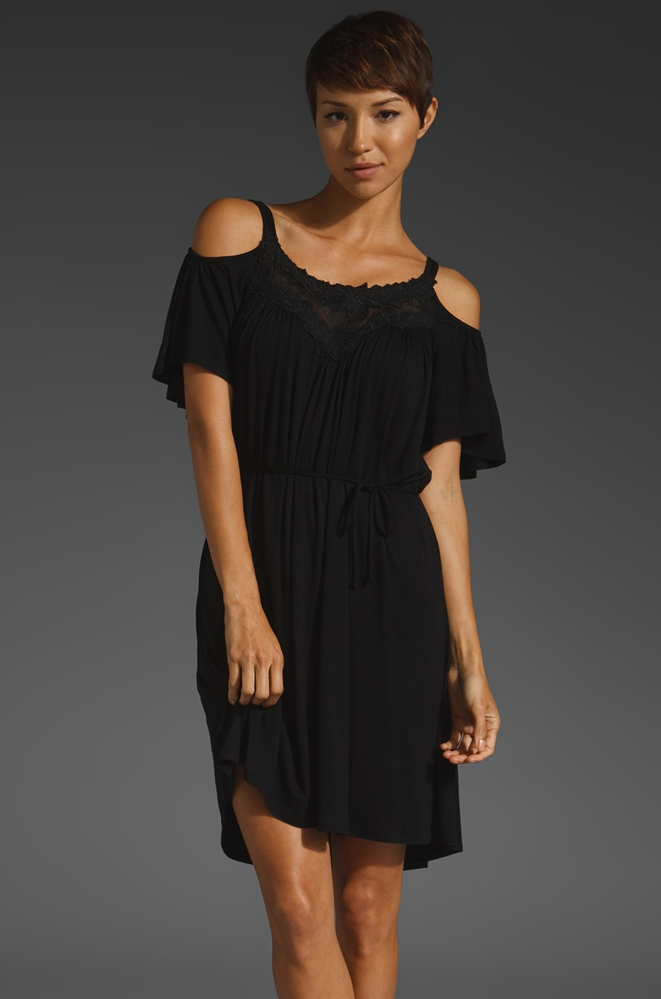 Ella Moss Marisol Dress in Black