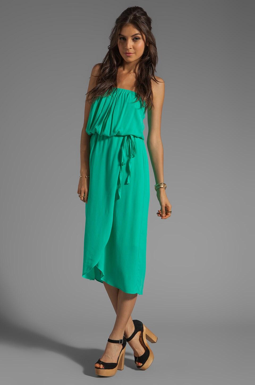 Ella Moss Stella Strapless Maxi in Jade