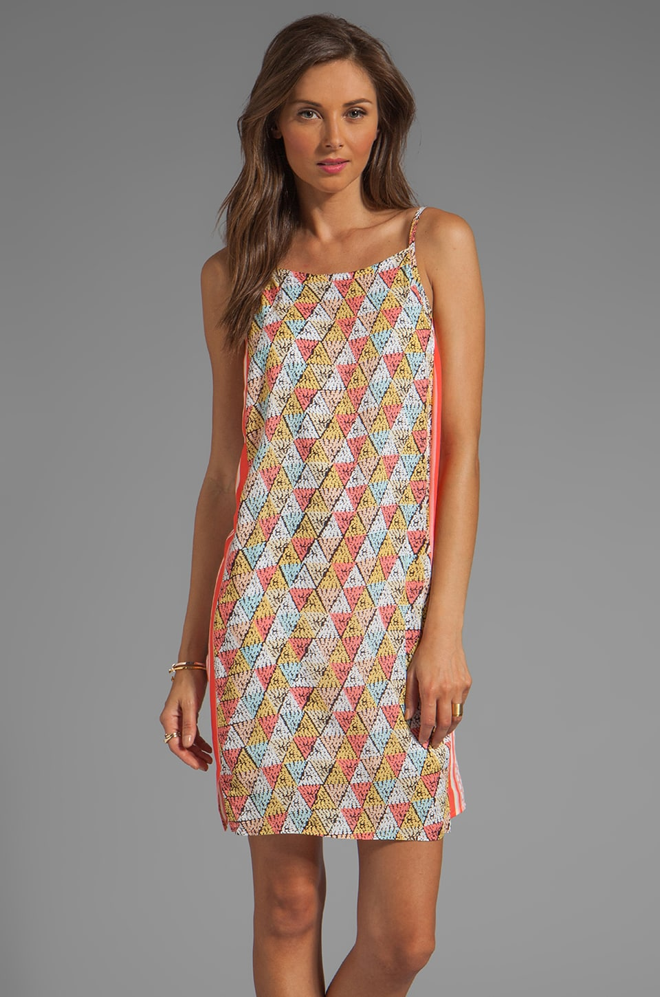 Ella Moss Tiki Dress in Coral