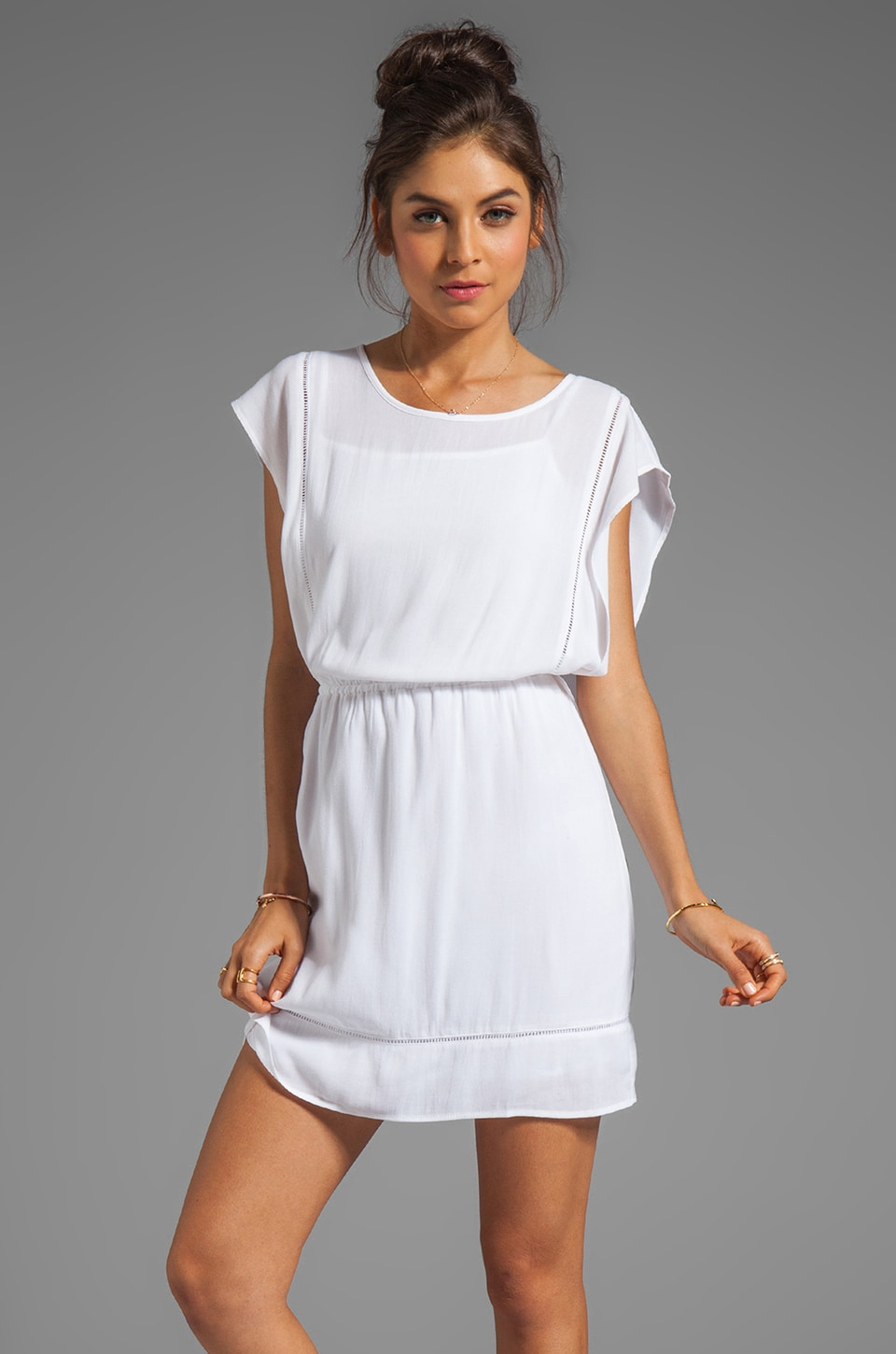 Ella Moss Stella Dress in White