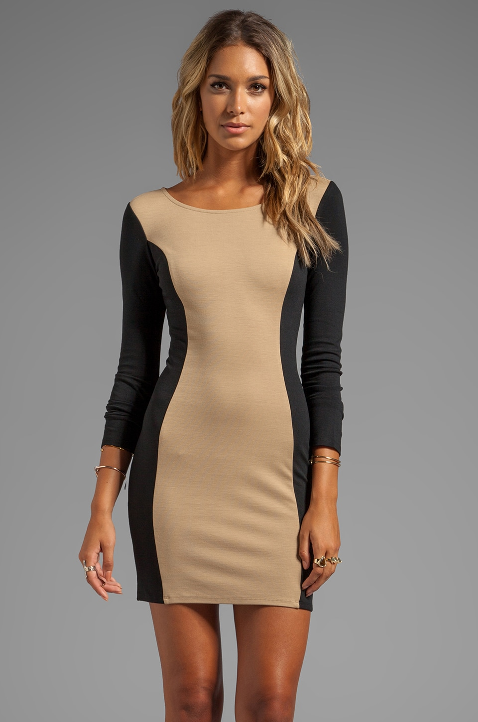Ella Moss Naomi Dress in Camel