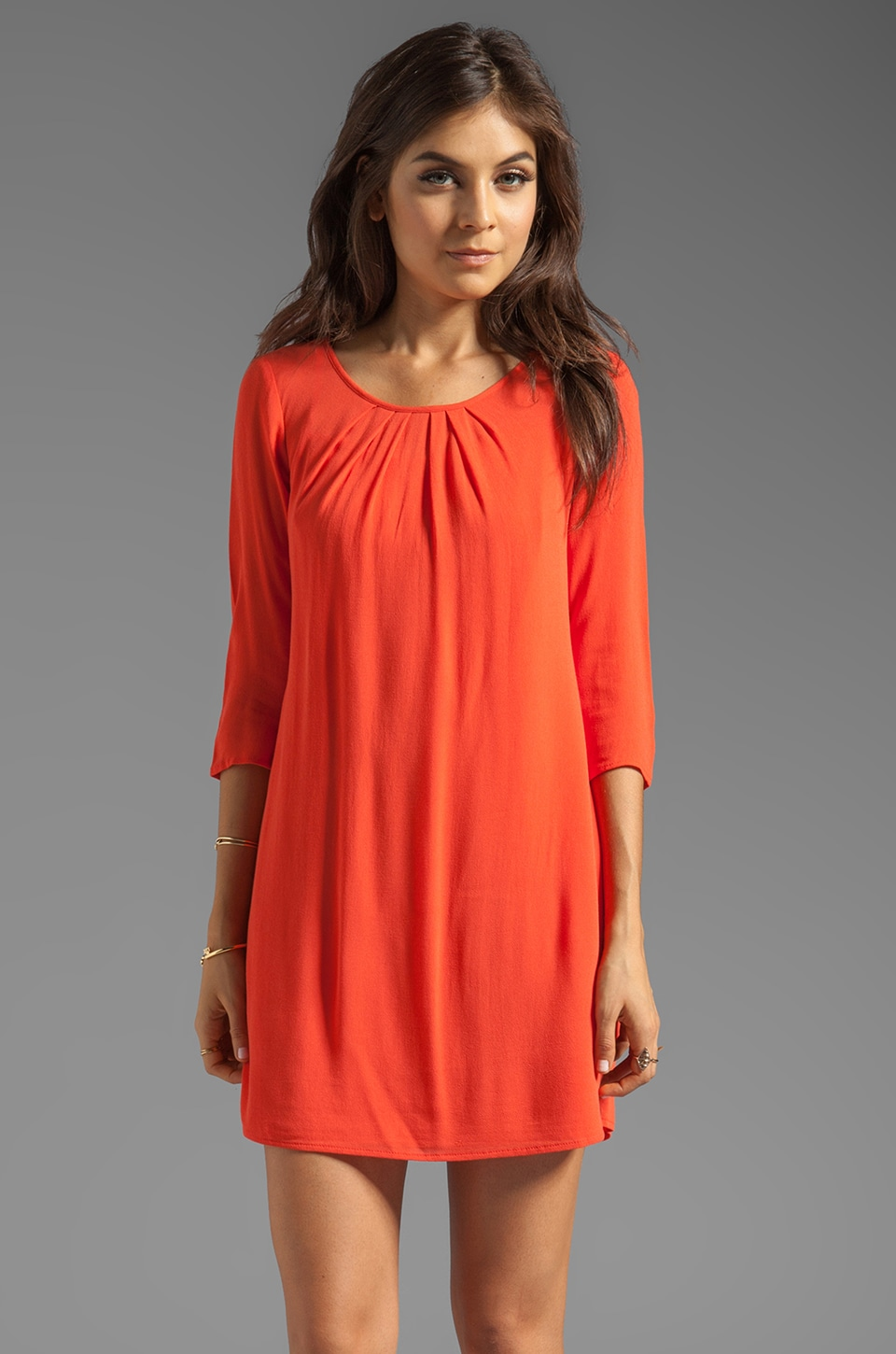 Ella Moss Stella Dress in Fire