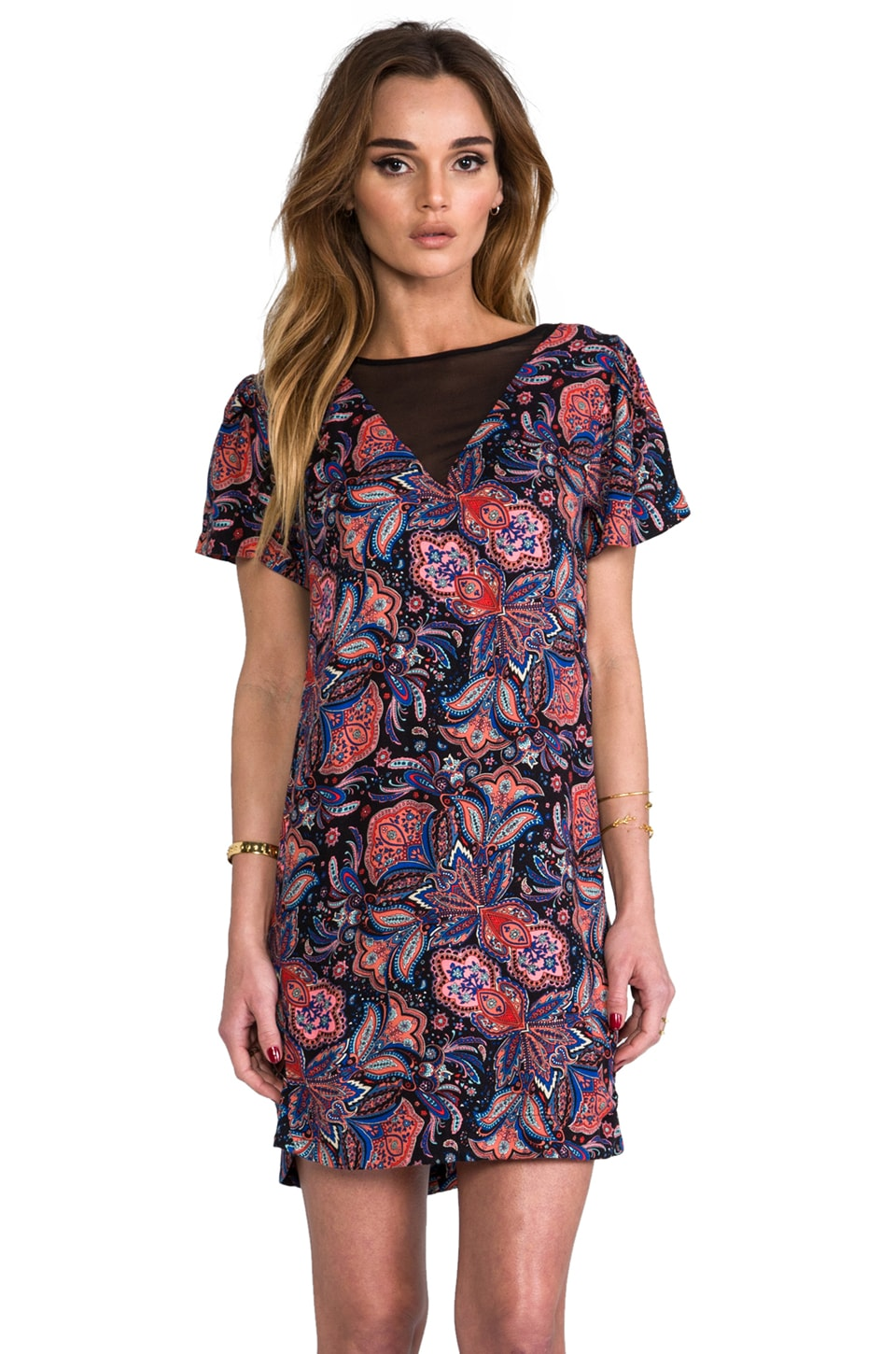 Ella Moss Lora Print Dress in Multi