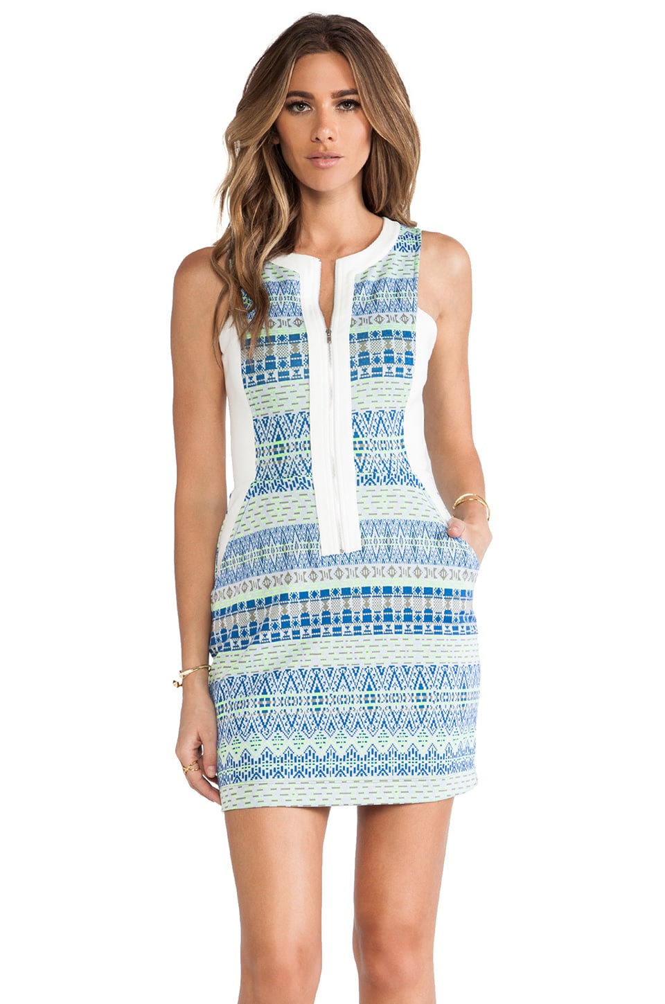 Ella Moss Paz Dress in Azure