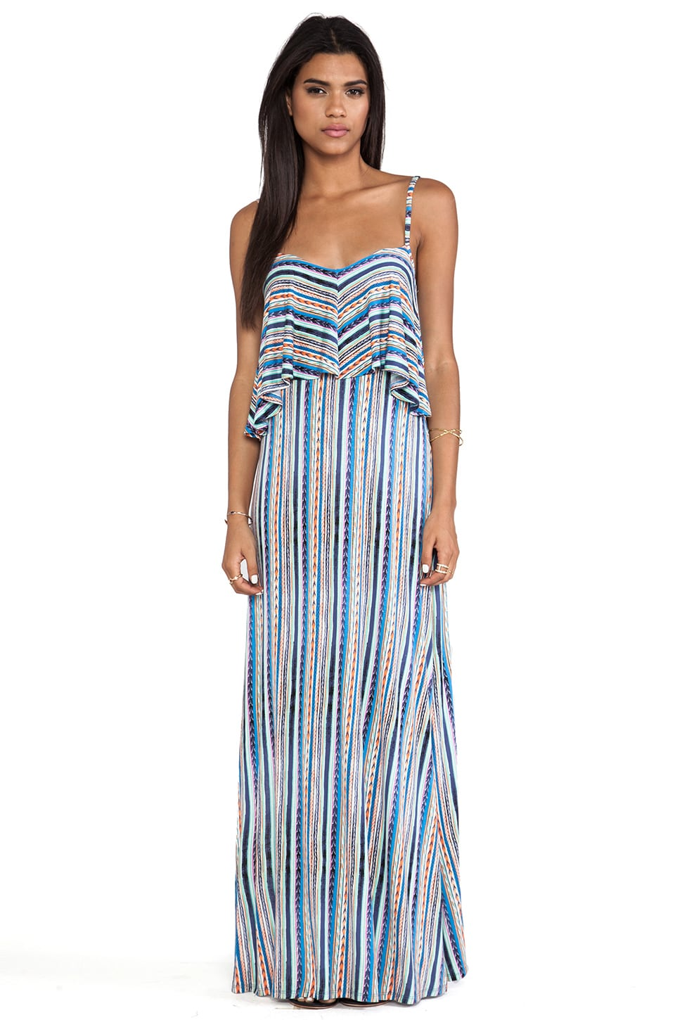 Ella Moss Bondi Maxi Dress in Azure