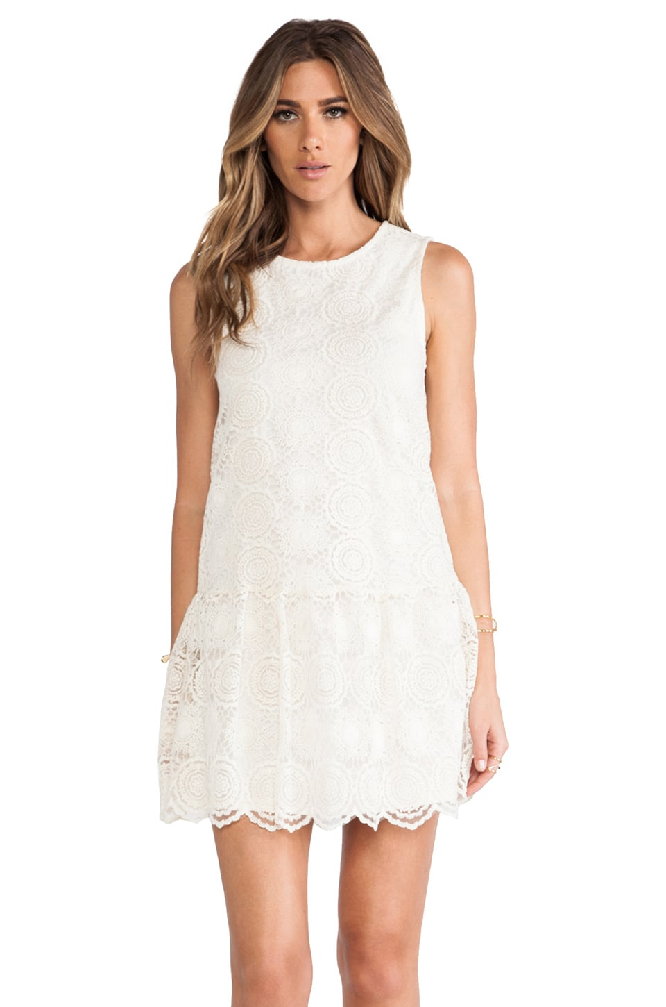 Ella Moss Hanalei Crochet Dress in Natural