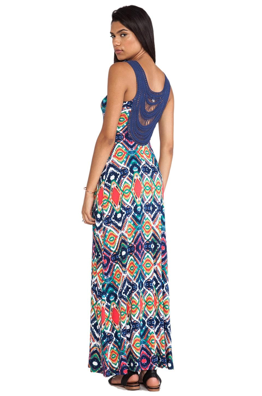 Ella Moss Totem Maxi Dress in Sunset