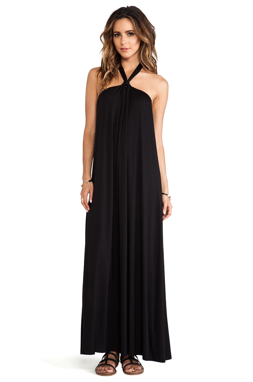 Ella Moss Tali Maxi Dress in Black