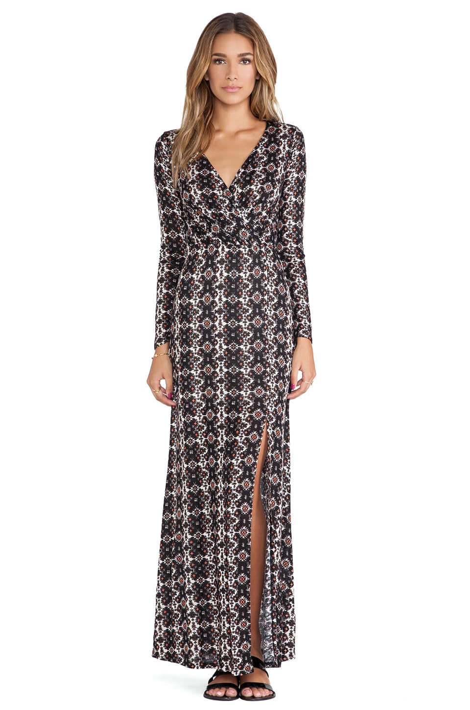 Ella Moss Joella Maxi Dress in Black