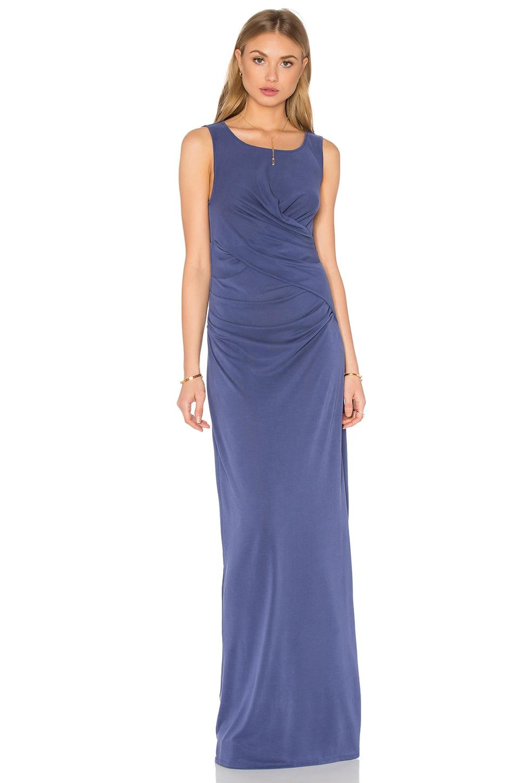 Ella Moss Column Dress in Periwinkle
