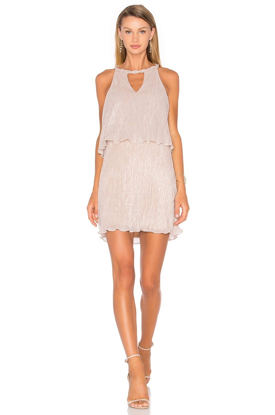 Ella Moss Cerine Dress in Pink Champagne