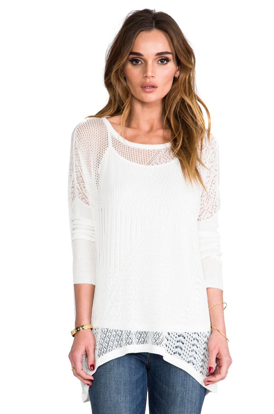 Ella Moss Tori Sweater in Natural