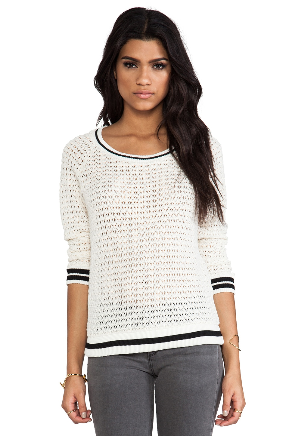 Ella Moss Millie Sweater in Natural