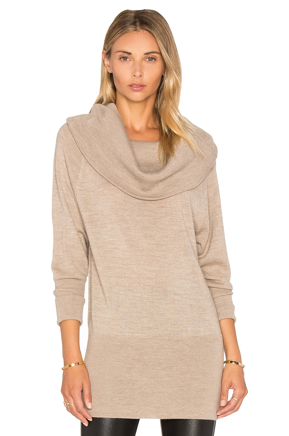 Ella Moss Jodi Sweater in Heather Wheat