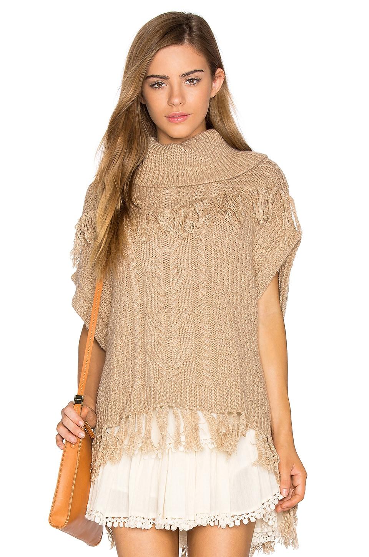 Ella Moss Lillyan Sweater in Camel