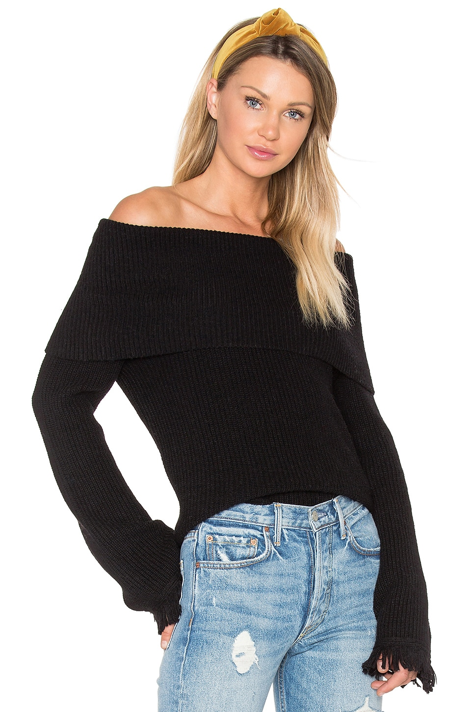 Ella Moss Avila Sweater in Black