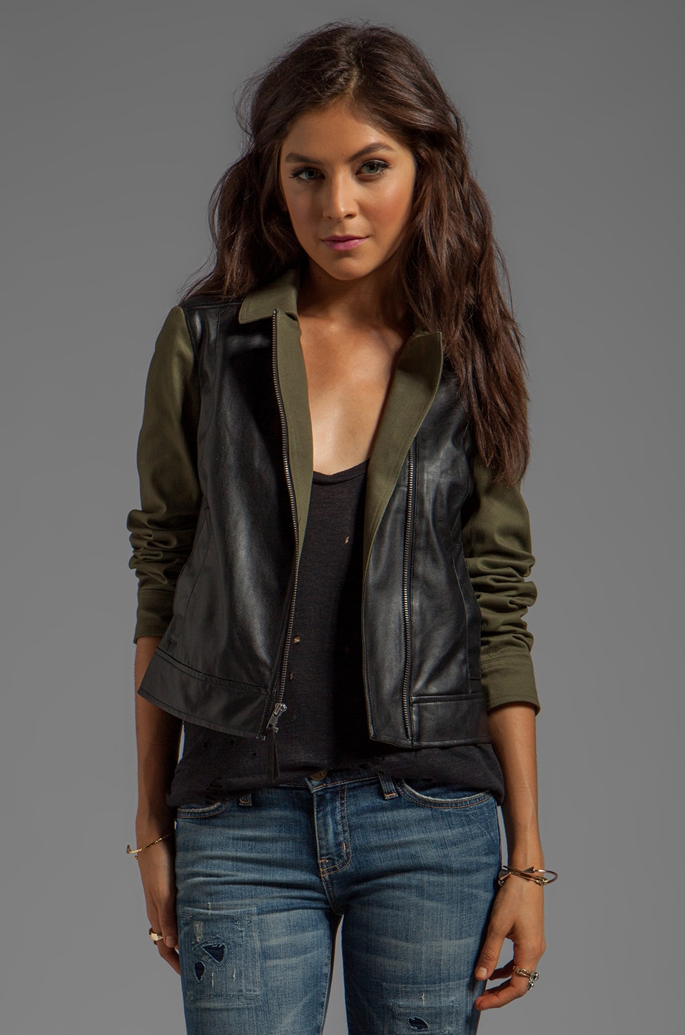 Ella Moss Ashwin Jacket in Army