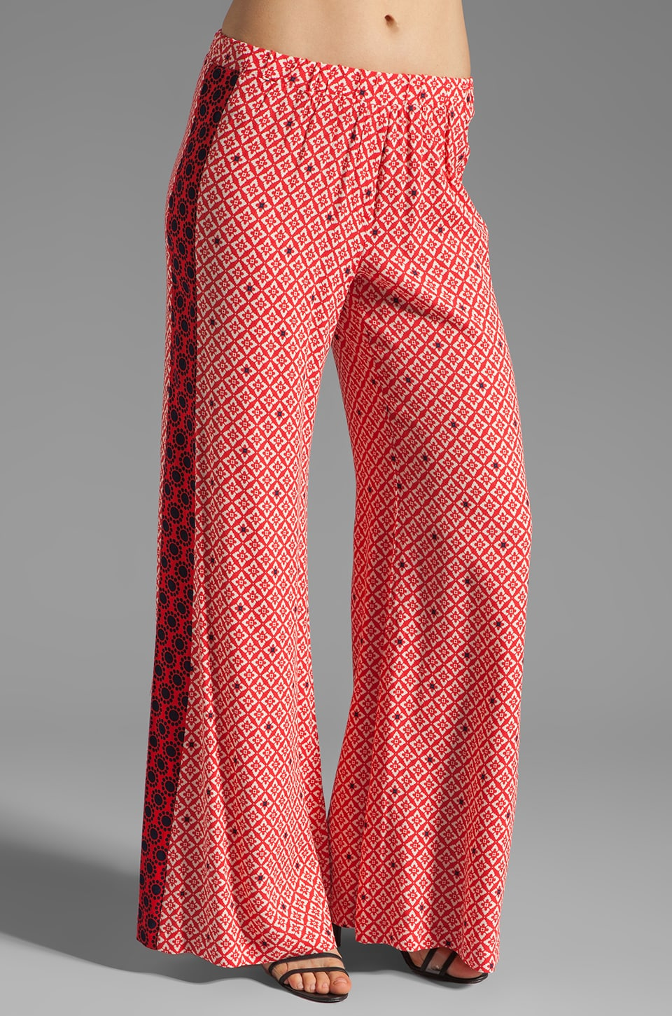 Ella Moss Sun Tile Pant in Poppy